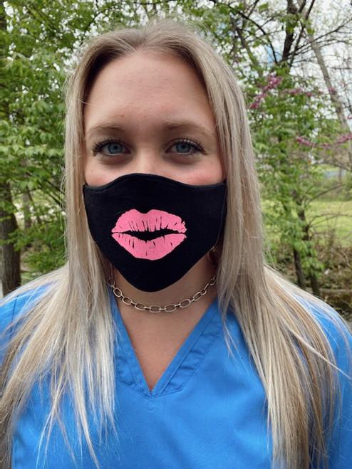 Glitter Lips Mask