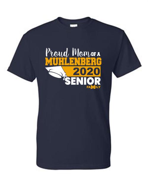 Muhlenberg Senior Mom T-shirt