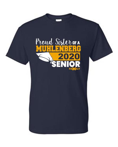 Muhlenberg Senior Sister T-shirt