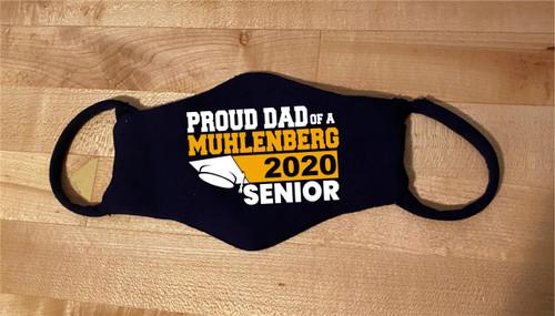 Muhlenberg Senior/Graduate Dad Mask