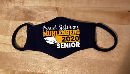 Muhlenberg Senior/Graduate Sister Mask