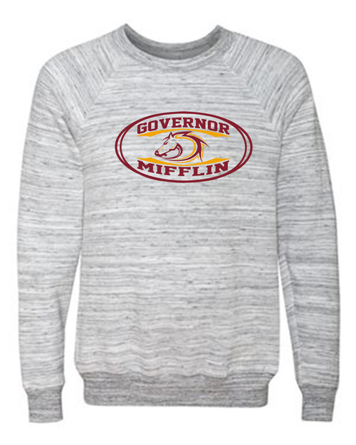 Governor Mifflin Sponge Fleece Crewneck