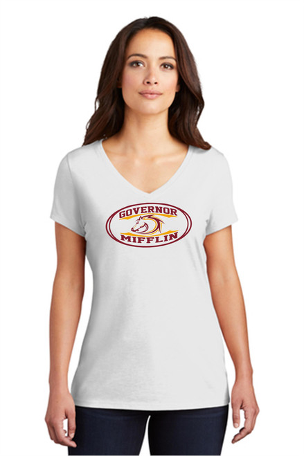 Governor Mifflin Ladies Triblend T-shirt