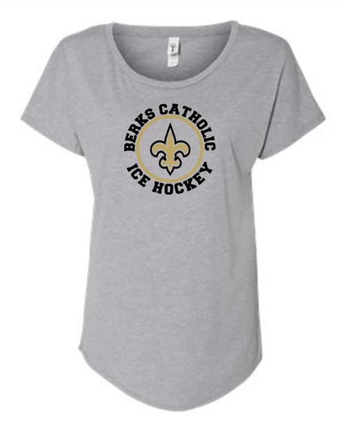 Berks Catholic Ice Hockey Dolman shirt