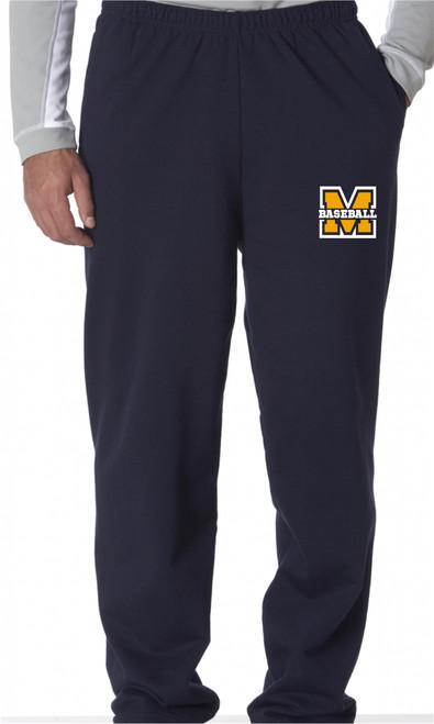 MTAA Fundraiser Baseball  Pocketed Sweatpants