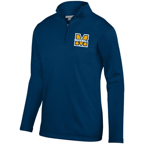 MTAA Fundraiser Baseball Dry Fit QZ Fleece