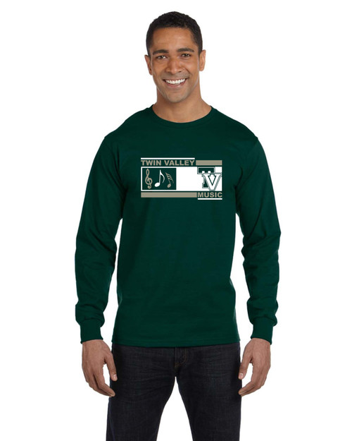 Twin Valley Music Long Sleeve T-shirt
