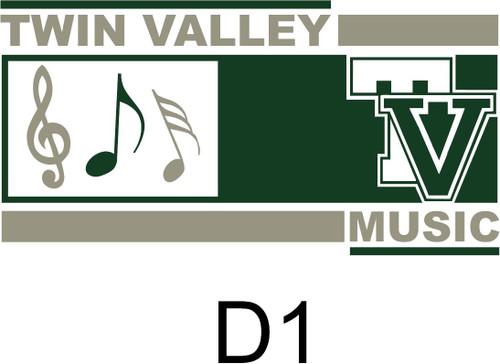 Twin Valley Music Tie Dye T-shirt