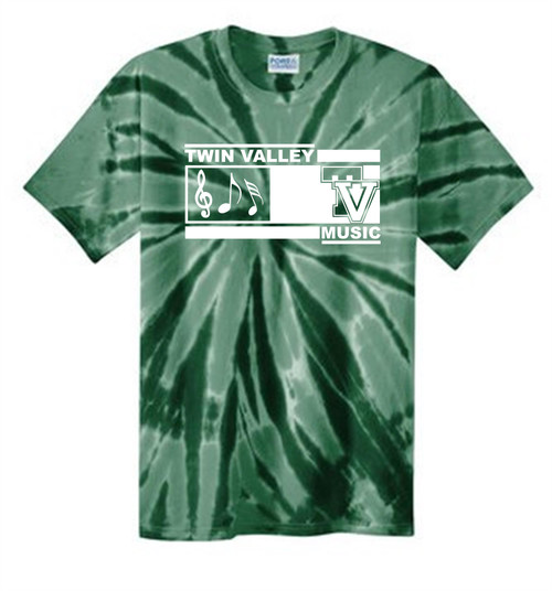 Twin Valley Music Tie Dye T-shirt