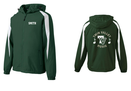Twin Valley Music Full Zip Jacket