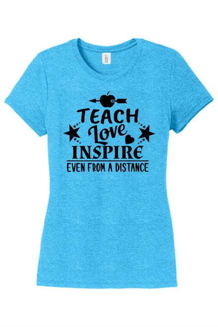 10th & Penn Teach, Love & Inspire Triblend T-shirt
