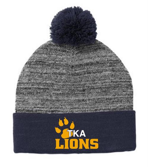 2021 New-TKA Pompom Blended hat