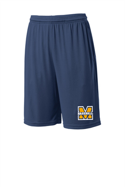 MTAA Fundraiser Baseball Pocketed Dry Fit shorts