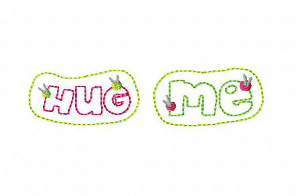 Hug Me Cactus Fetie Valentine's Day Set MACHINE EMBROIDERY DESIGN 4X4, 5X7 & 6X10