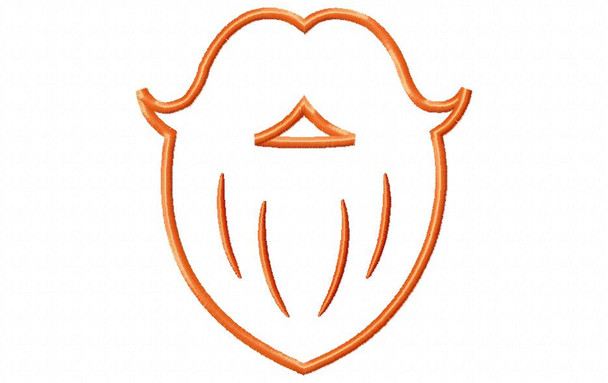 Leprechaun Beard Weekly Freebie! MACHINE EMBROIDERY DESIGN 4X4, 5X7 & 6X10