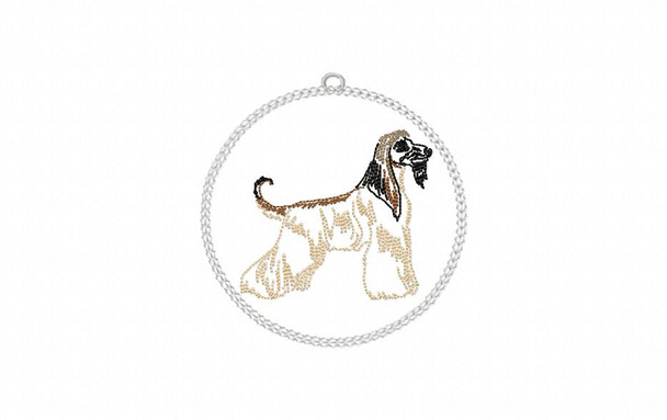 Christmas Ornament Dog Breeds Set One In The Hoop MACHINE EMBROIDERY DESIGN 4X4