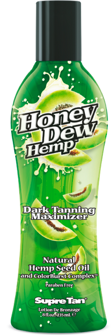 61726d053449 Supre Tan Honey Dew Hemp Dark Tanning Maximizer Organic Hemp Seed Oil  Tanning Lotion