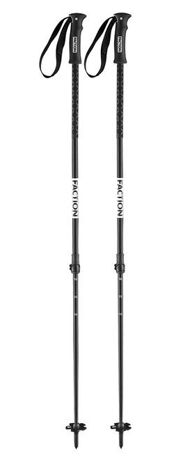 Faction Agent adjustable ski poles