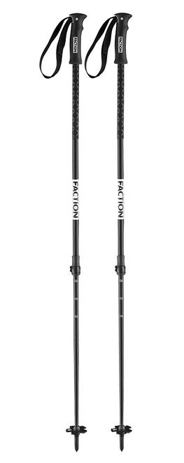 Faction Agent adjustable ski poles