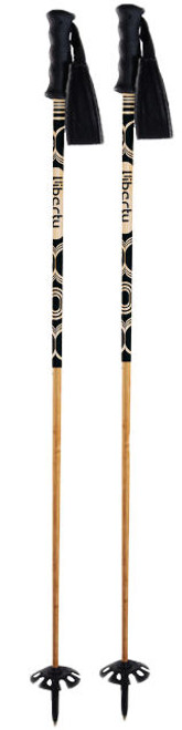 Liberty Retro Light Bamboo Ski Poles