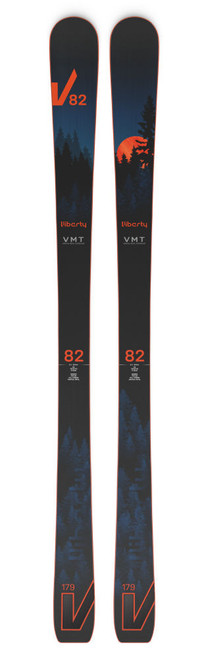 Liberty V82 All Mountain Skis