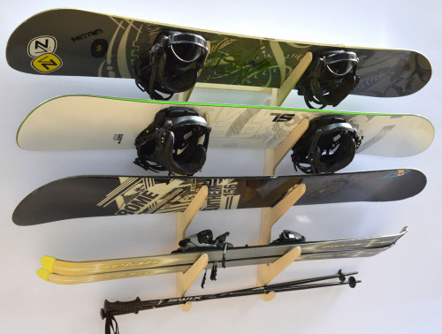 Rado Racks Baltic Ski & Snowboard Storage Rack