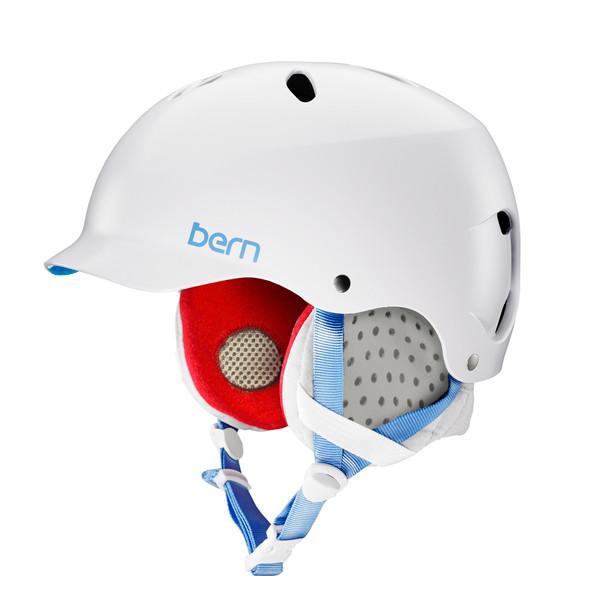 Bern Lenox women's ski helmet satin white