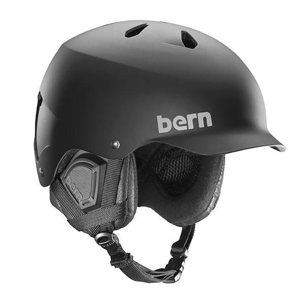 Bern Watts men's ski helmet matte black