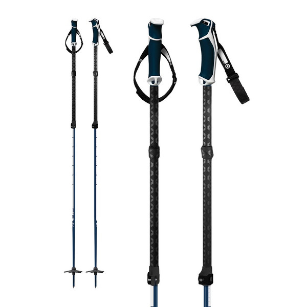 G3 Via adjustable ski poles