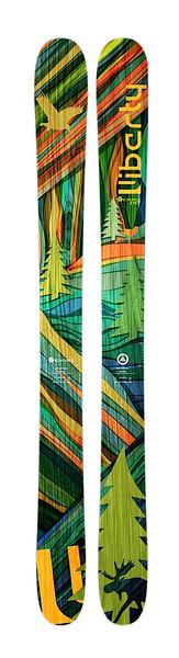 Liberty Genome freeride skis