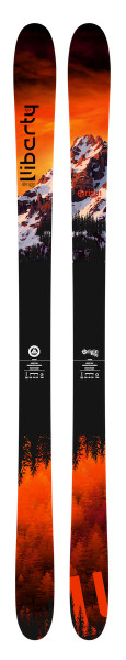 Liberty Origin 96 all mountain skis