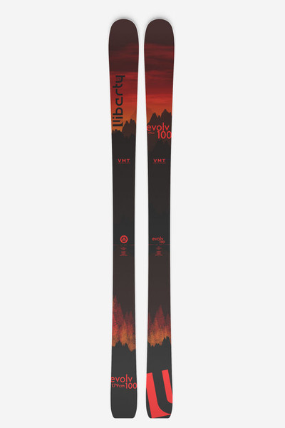 Liberty Evolv 100 skis