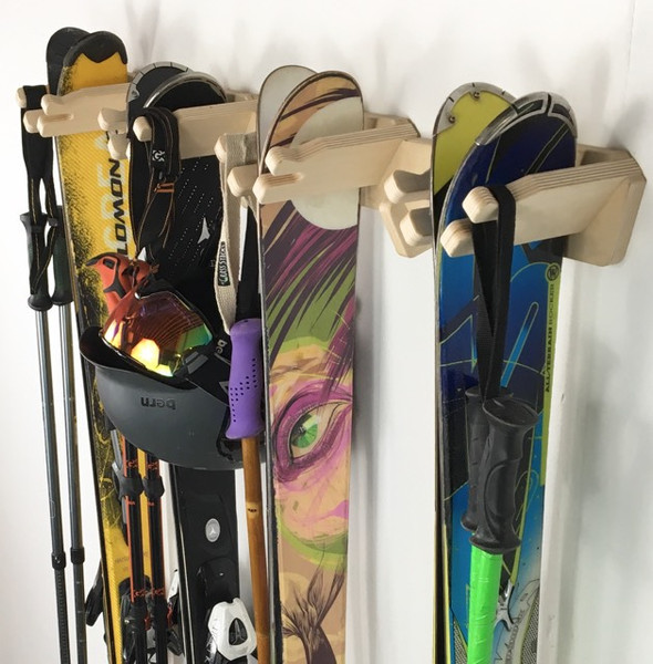 Rado Racks Vertical Ski Storage Rack