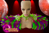 CHARISMATICO Colorful Striking Excellent Feather Diva Collar