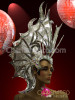 Butterfly Wings Charming Tiara Drag Queen Diva Futuristic Stunning Headdress