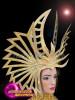 CHARISMATICO Diva gold show girl Super Bowl Madonna headdress