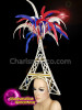 CHARISMATICO Diva Show Time Eiffel 4Th Of July Show Girl Headdress