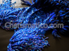 Blue Sequin Sexy Feather Sequin Diva Sequin Showgirl Dress