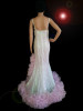 CHARISMATICO  Pearl Pink Drag Queen Sequin Glittery Organza Gown