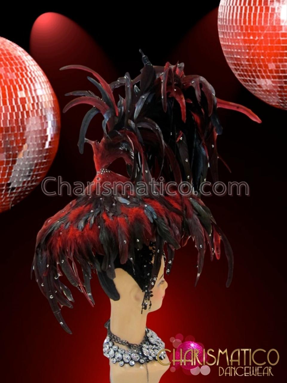 CHARISMATICO Iridescent Blush Pink Beaded Fringe Cage Bikini With Matching Thong