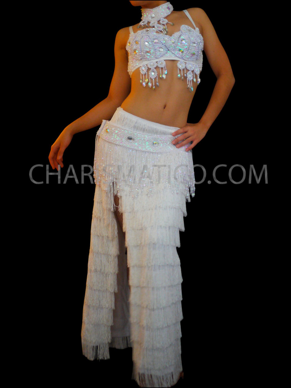 New Belly Dance Costume Sequins Beads Bra Top Vest Blouse 9 Colors