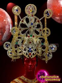 CHARISMATICO gold enchanting shiny attractive extravagant Egypt headdress