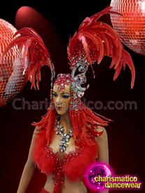 CHARISMATICO Flamboyant Exquisite Beautifully Decorated Extravagant Headdress