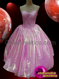 CHARISMATICO Pink Delightful Enchanting Marvelous Diva Ball gown