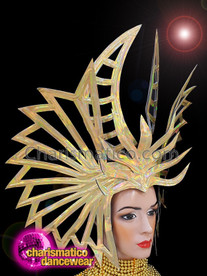 CHARISMATICO Diva Gold Show Girl Super Bowl Madonna Headdress