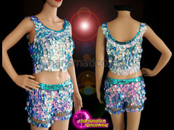 CHARISMATICO Expect A Scintillating Show On Stage With Sparkling Silver Top And Shorts