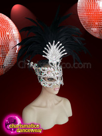 CHARISMATICO Get Ready To Rock Masquerade Parties With Mask With A Headdress