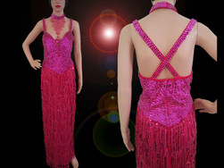 CHARISMATICO Steal The Show With This Gorgeous Fuchsia Long Gown