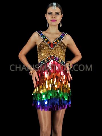 Rainbow Pride Cravate LGBT Gay Party Fancy Dress Costume Cravate CARNAVAL NOUVEAU UK
