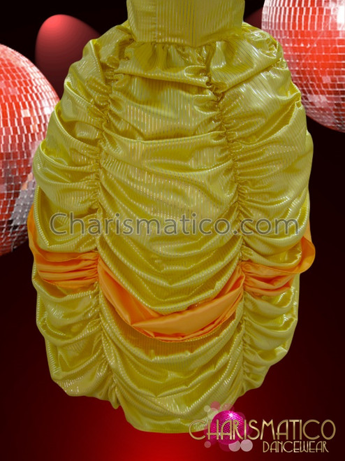 Yellow Beauty And The Beast La Belle Princess Ball Gown